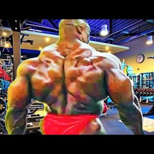 ALL TIME MONSTER BACK - RONNIE COLEMAN BACK DAY