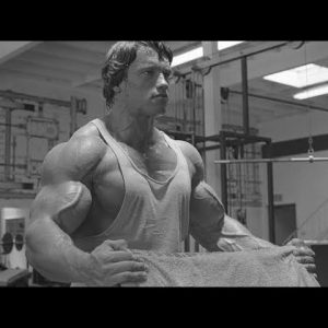 Arnold Schwarzenegger Training Hard Motivation