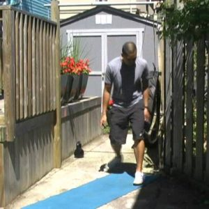 Fat Burning Bodyweight Workout using TT Buff Body Backyard Workout A