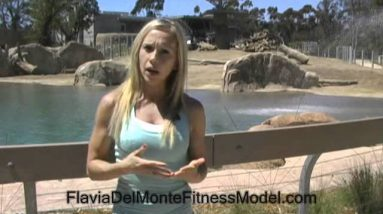 Flavia Del Monte Fat Loss Workouts and Nutrition