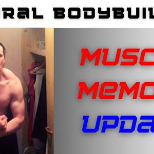 Is muscle memory real? #1 update - Natural bodybuilder