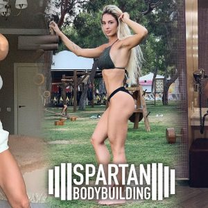 Katerina Lapteva workout | Spartan Bodybuilding