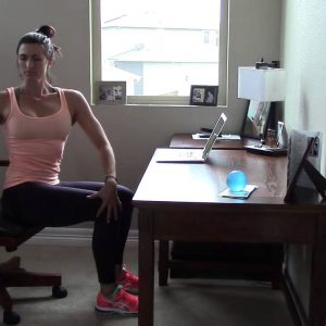 Missi Holt Yoga: Desk Series Video 1