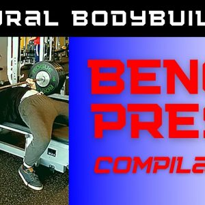 Natural bodybuilder BENCH-PRESS compilation!
