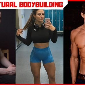 Real natural bodybuilders transformations!