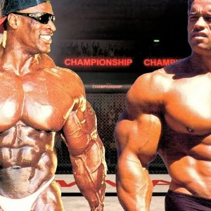 RONNIE COLEMAN vs ARNOLD SCHWARZENEGGER - G.O.A.T VS G.O.A.T - MOTIVATION