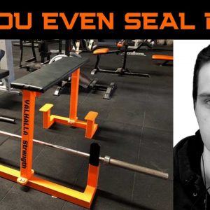 Seal rows | Great pull exercise for back and for beginners