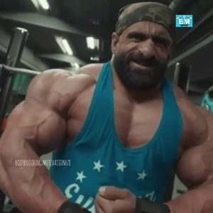 Shoulder day motivation of Olympia bodybuilders