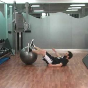 Stability Ball Circuit for Abs and Legs