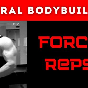Stop doing forced reps in bodybuilding