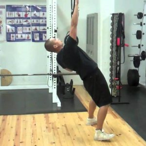TRX 1-Arm Strap Row Exercise