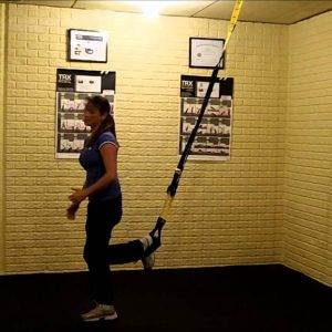 TRX Burpee Exercise Variation