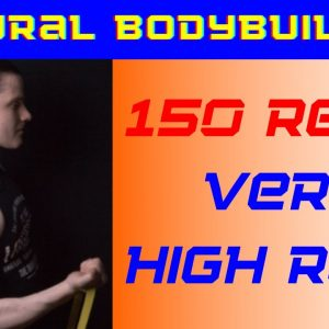 Very high reps chest flies - 150 reps (explained)